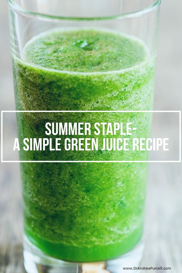 A Simple Green Juice Recipe- This is a Must-Try!